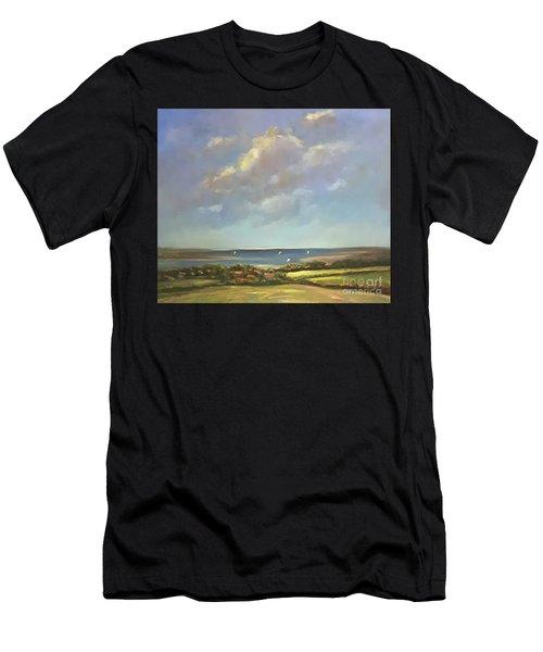 Brancaster Staithes, Norfolk Men's T-Shirt (Athletic Fit)