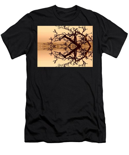 Branches In Suspension Men's T-Shirt (Athletic Fit)