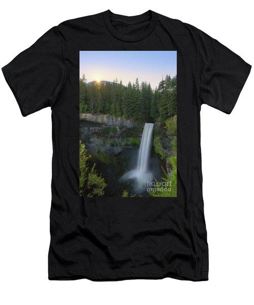 Brandywine Falls Sunset  Men's T-Shirt (Athletic Fit)