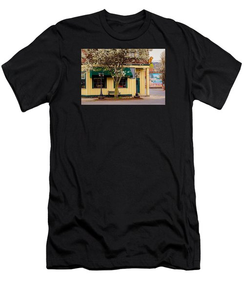 Brass Cat Pub Easthampton Men's T-Shirt (Athletic Fit)