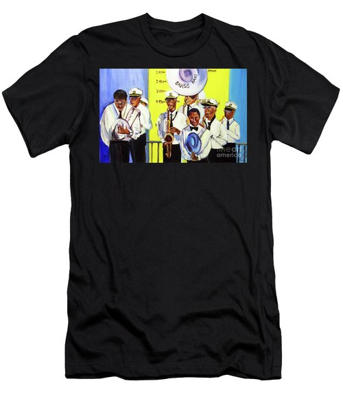 Brass Of  Class New Orleans Men's T-Shirt (Slim Fit)