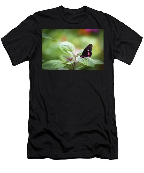 Brave Butterfly  Men's T-Shirt (Athletic Fit)