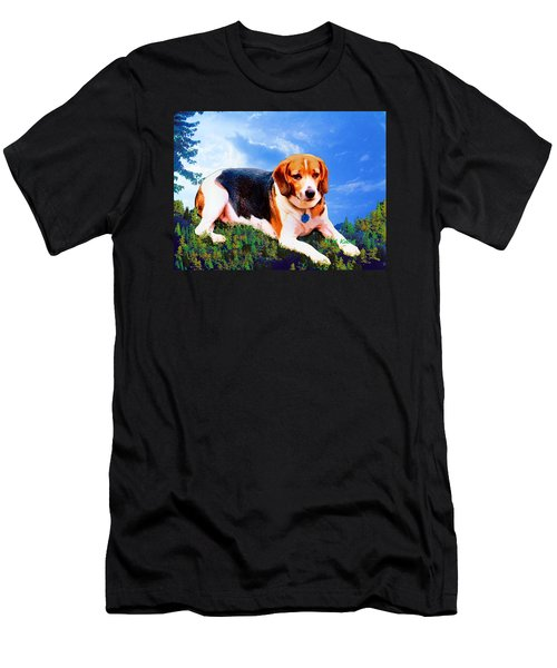 Bravo The Beagle Men's T-Shirt (Athletic Fit)