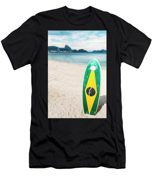 Brazilian Standup Paddle Men's T-Shirt (Athletic Fit)