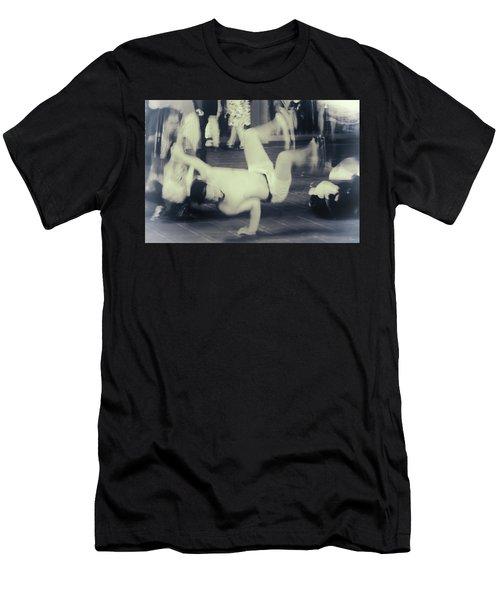 Men's T-Shirt (Athletic Fit) featuring the photograph Break Dance by Rasma Bertz