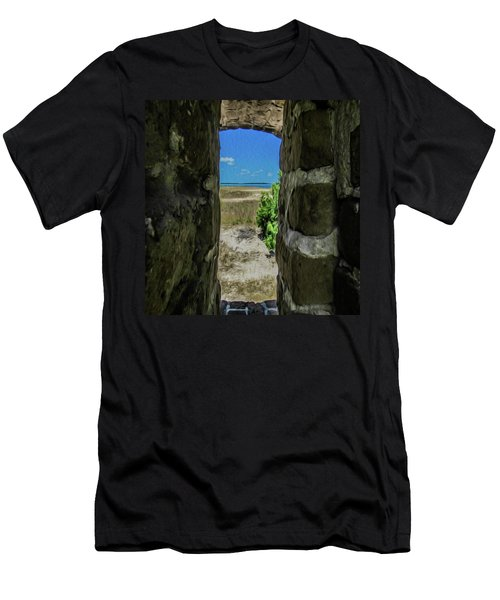 Break Free Of Your Walls Men's T-Shirt (Athletic Fit)