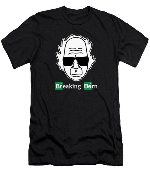 Breaking Bern Men's T-Shirt (Slim Fit) by Sean Corcoran