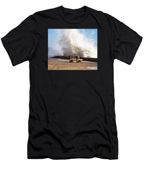 Breaking Wave Men's T-Shirt (Athletic Fit)