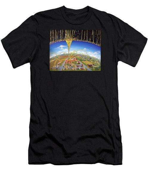 Breakthrough Men's T-Shirt (Slim Fit) by Nancy Cupp