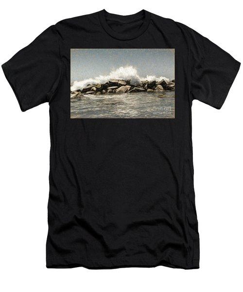 Breakwater 2 Men's T-Shirt (Athletic Fit)