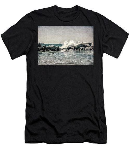 Breakwater Men's T-Shirt (Athletic Fit)