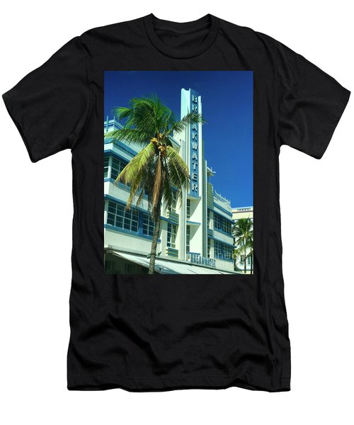 Breakwater Miami Beach Men's T-Shirt (Athletic Fit)