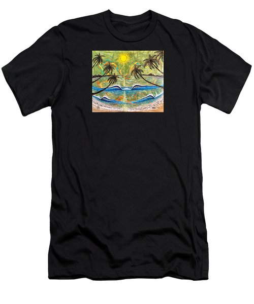 Breathe In Clarity  Men's T-Shirt (Athletic Fit)