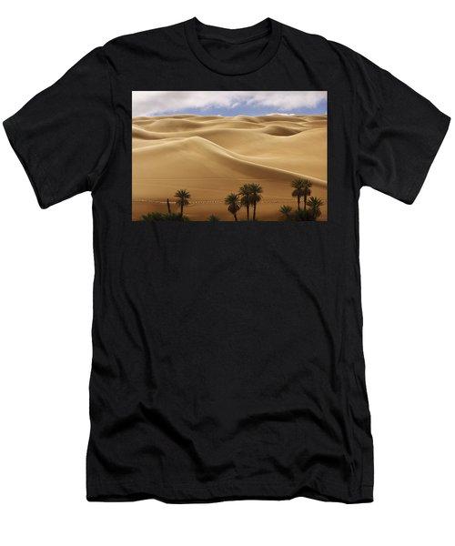 Breathtaking Sand Dunes Men's T-Shirt (Athletic Fit)