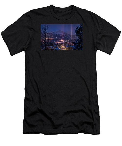 Breckenridge Phenomenon Men's T-Shirt (Slim Fit) by Michael J Bauer