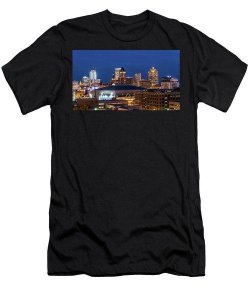 Brew City At Dusk Men's T-Shirt (Athletic Fit)