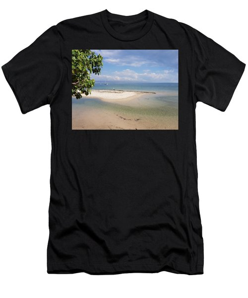 Bribie Island  Men's T-Shirt (Athletic Fit)