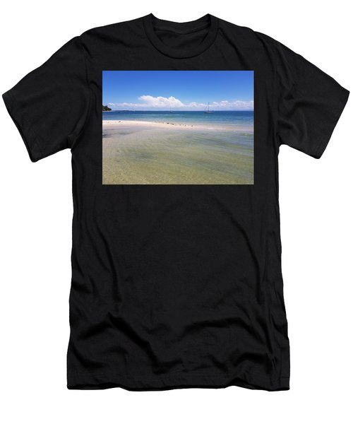 Bribie Waters Men's T-Shirt (Athletic Fit)
