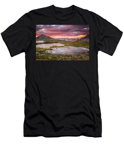 Bridal Veil Basin Men's T-Shirt (Athletic Fit)