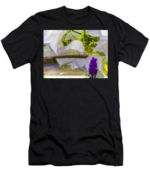 Bridge Flower.  Men's T-Shirt (Athletic Fit)