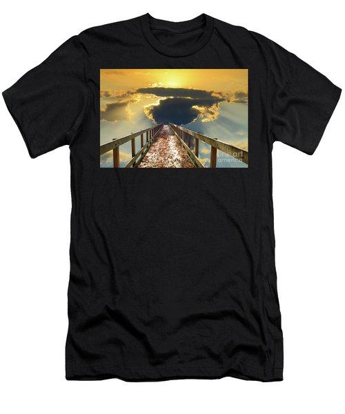 Bridge Into Sunset Men's T-Shirt (Athletic Fit)