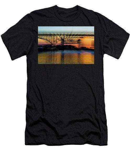 Bridge Motion Men's T-Shirt (Athletic Fit)