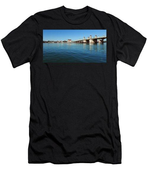 Bridge Of Lions, St. Augustine Men's T-Shirt (Athletic Fit)