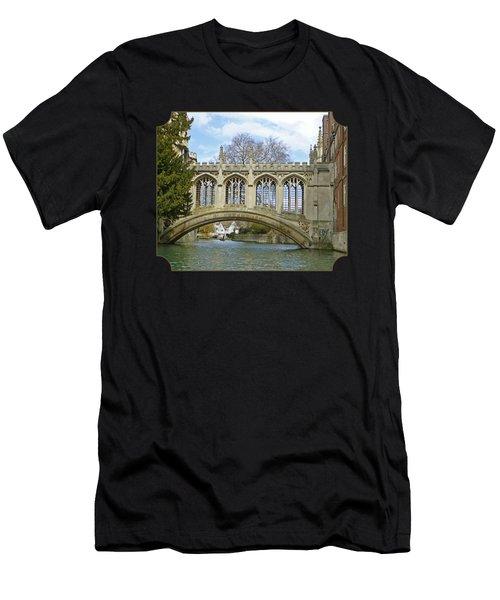 Bridge Of Sighs Cambridge Men's T-Shirt (Athletic Fit)