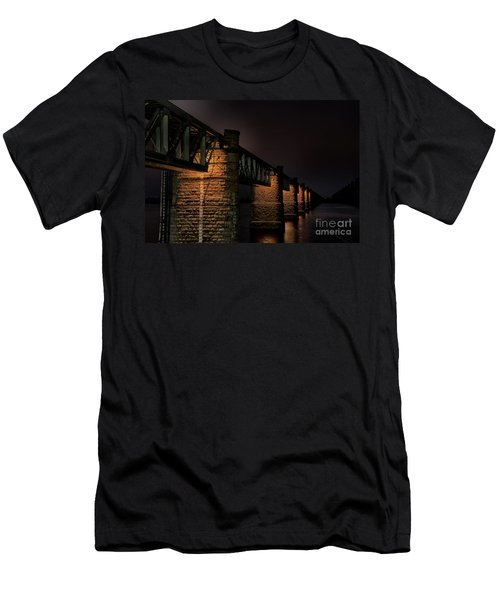 Bridge On Holy River Godavari Men's T-Shirt (Athletic Fit)
