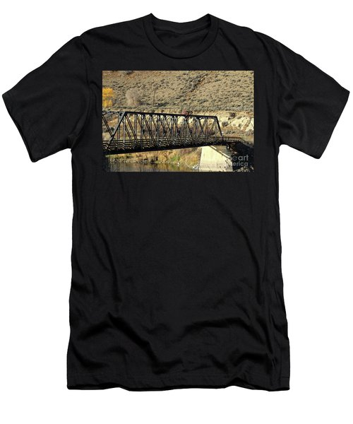 Bridge Over The Thompson Men's T-Shirt (Athletic Fit)