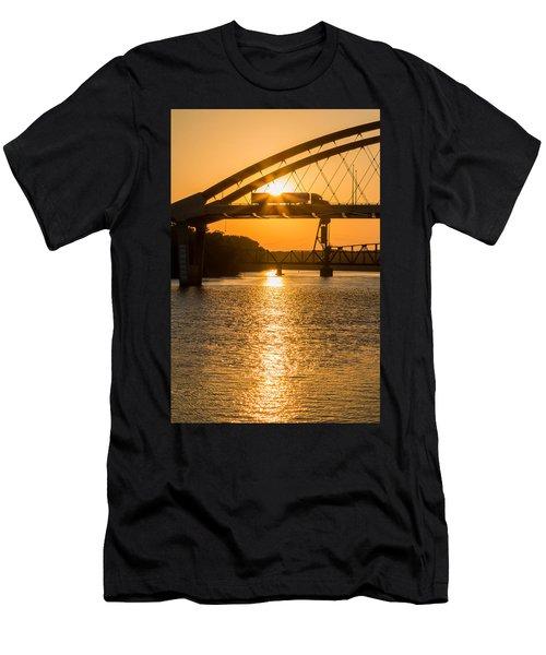 Bridge Sunrise #2 Men's T-Shirt (Athletic Fit)
