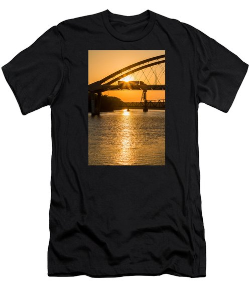 Bridge Sunrise 2 Men's T-Shirt (Athletic Fit)