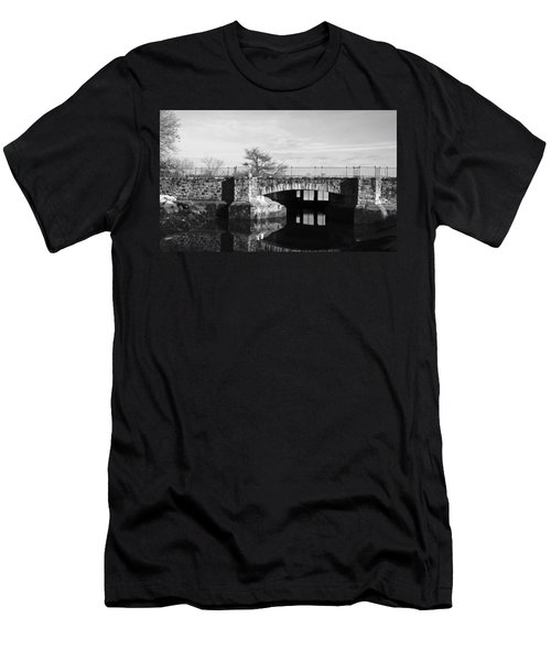 Bridge To Heaven Men's T-Shirt (Slim Fit) by Jose Rojas