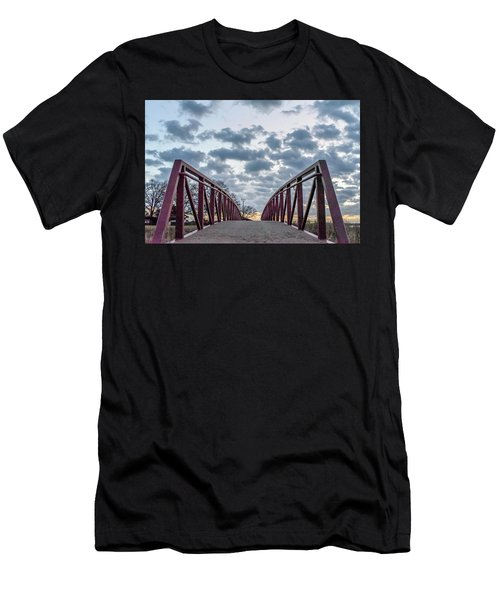 Bridge To The Clouds Men's T-Shirt (Athletic Fit)