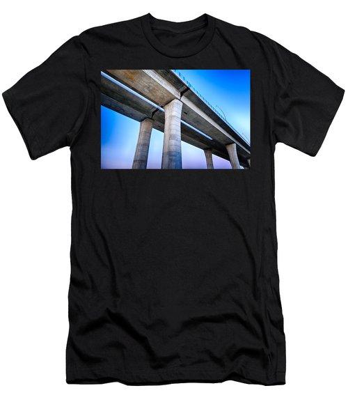 Bridge To The Heaven Men's T-Shirt (Athletic Fit)