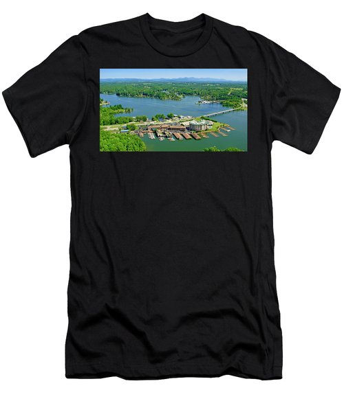 Bridgewater Plaza, Smith Mountain Lake, Virginia Men's T-Shirt (Athletic Fit)