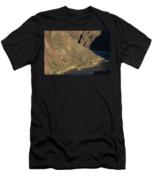 Bright Angel Trail Near The Colorado River Men's T-Shirt (Athletic Fit)