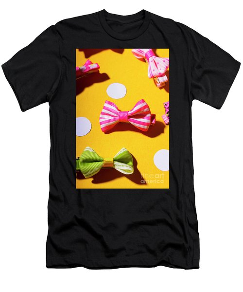 Bright Bow Tie Gallery Men's T-Shirt (Athletic Fit)