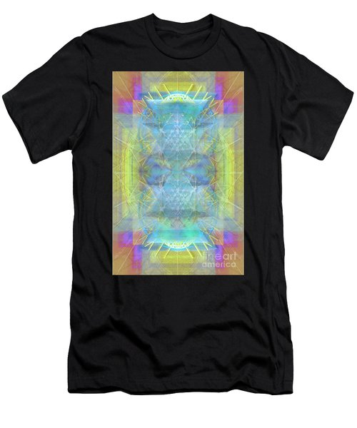 Bright Chalice Ancient Symbol Tapestry Men's T-Shirt (Athletic Fit)