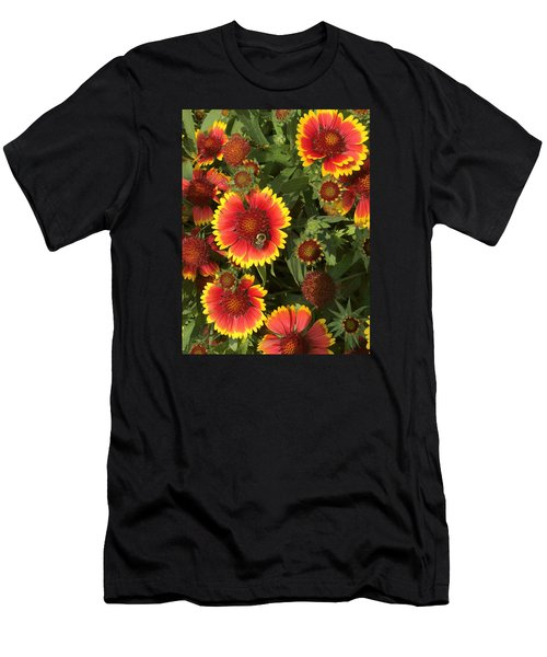 Bright Daisy-like Men's T-Shirt (Athletic Fit)