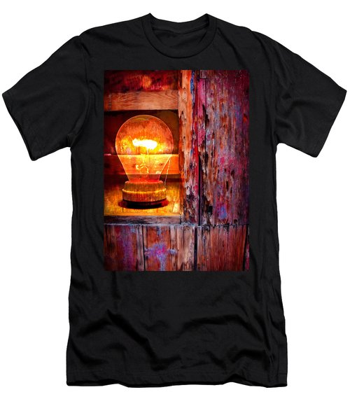 Men's T-Shirt (Slim Fit) featuring the photograph Bright Idea by Skip Hunt