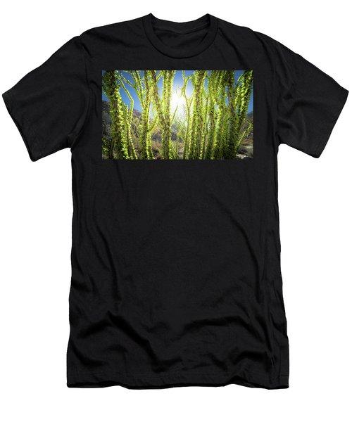 Bright Light In The Desert Men's T-Shirt (Athletic Fit)