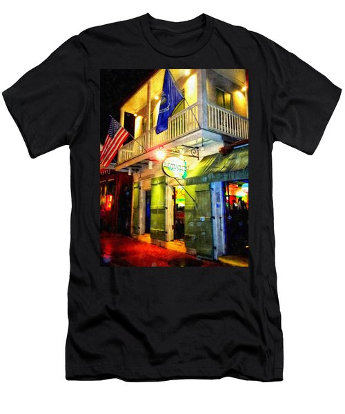 Bright Lights In The French Quarter Men's T-Shirt (Athletic Fit)