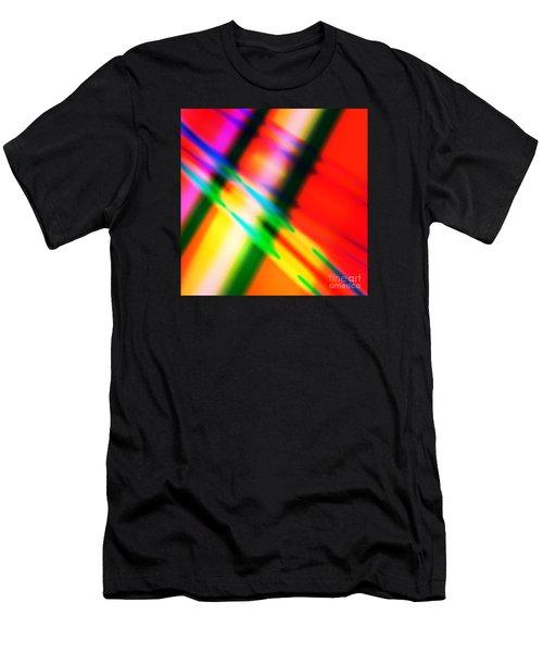 Bright Lines Men's T-Shirt (Athletic Fit)