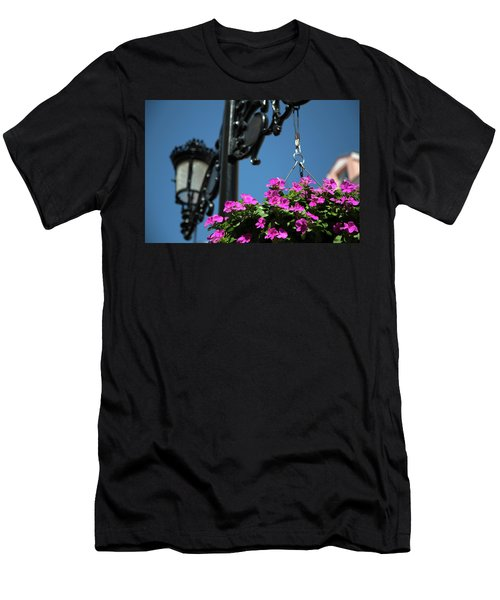 Men's T-Shirt (Athletic Fit) featuring the photograph Bright Momories From Plovdiv 1 by Milena Ilieva