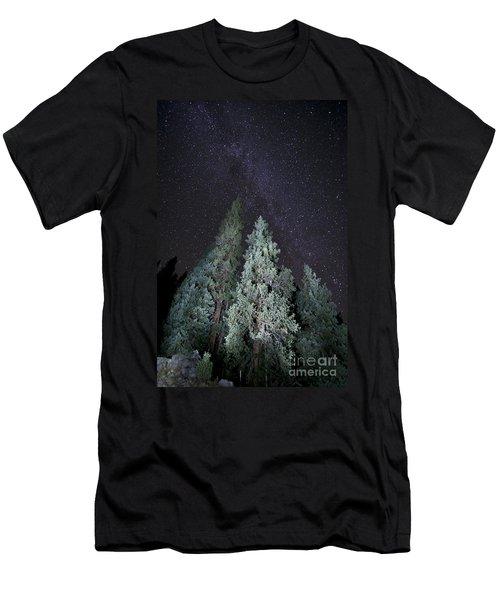 Bright Night Men's T-Shirt (Athletic Fit)