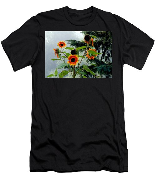 Bright Spots On A Foggy Morning Men's T-Shirt (Athletic Fit)