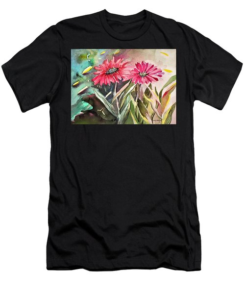 Bright Spring Daisies Men's T-Shirt (Athletic Fit)