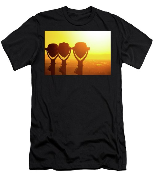 Men's T-Shirt (Athletic Fit) featuring the photograph Bright Visions by SR Green
