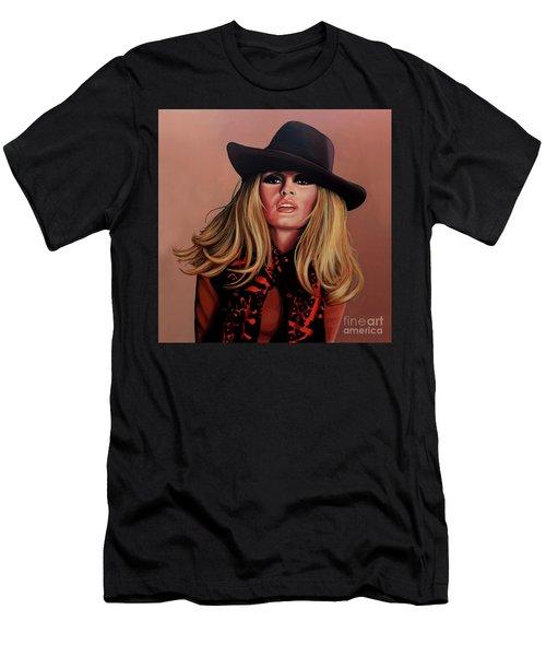 Brigitte Bardot Painting 1 Men's T-Shirt (Athletic Fit)